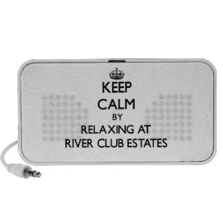 Keep calm by relaxing at River Club Estates Maryla Speaker