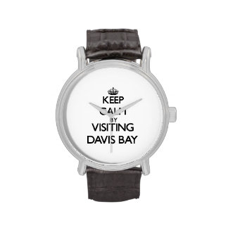 Keep calm by visiting Davis Bay Virgin Islands Wrist Watches