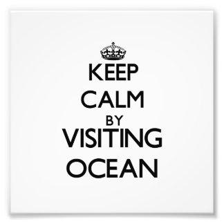 Keep calm by visiting Ocean New Jersey Art Photo