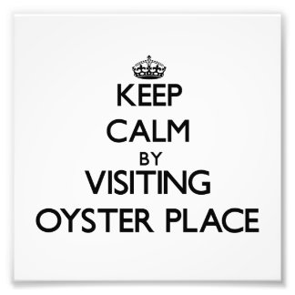 Keep calm by visiting Oyster Place Massachusetts Photograph