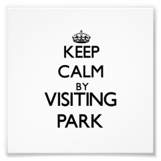 Keep calm by visiting Park New Jersey Photo Art