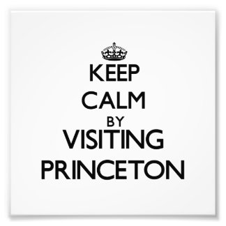 Keep calm by visiting Princeton New Jersey Photograph