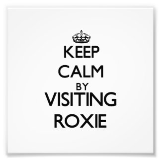 Keep calm by visiting Roxie New Jersey Art Photo
