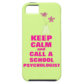 Keep Calm & Call School Psychologist iPhone 5 Case