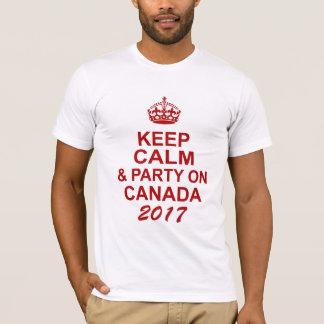 Keep Calm Canada 150 T-Shirt