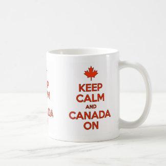 Keep Calm & Canada On Mug