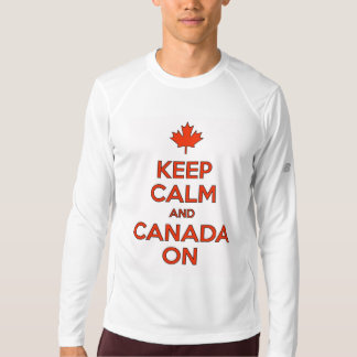 Keep Calm & Canada On! T-Shirt