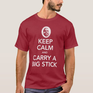Keep Calm & Carry a Big Stick - Unisex Dark Tee
