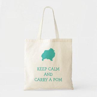 Keep calm carry a pom