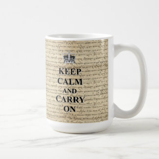 Keep Calm & Carry On Coffee Mug