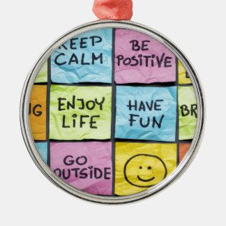 Keep Calm Christmas Tree Ornaments