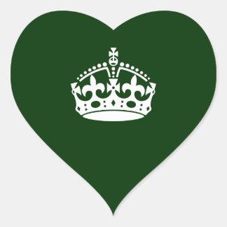 Keep Calm Crown Stickers | Zazzle.com.au