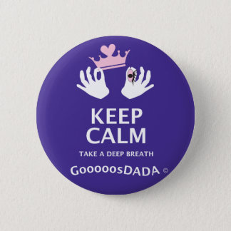 Keep Calm DADA Button