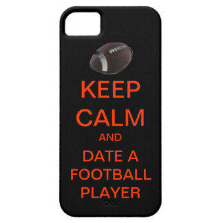KEEP CALM Date A Football Player Mod iPhone Case
