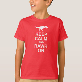Keep Calm Dinosaur Tee