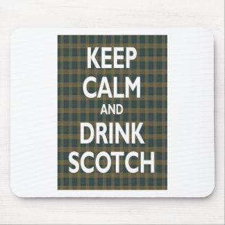 Keep Calm & Drink Scotch Mousemat