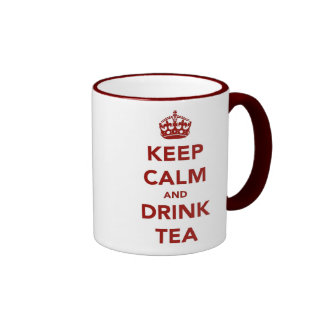 Keep Calm Drink Tea Mugs