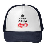 Keep Calm Dude Cap