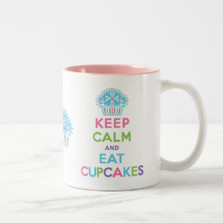 Keep Calm Eat Cupcakes Mug
