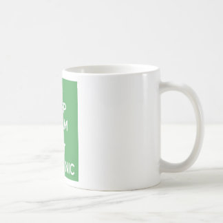Keep calm eat Organic Coffee Mug
