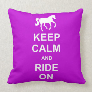KEEP CALM FLYING CHANGE PILLOW 20x20
