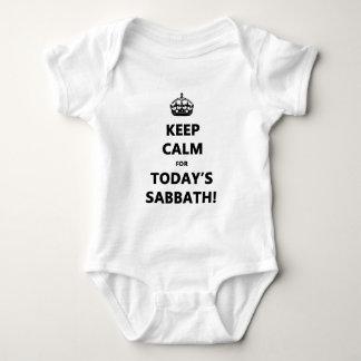 KEEP CALM for TODAY'S SABBATH Baby Bodysuit