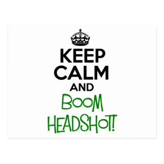 Keep Calm Funny Postcard