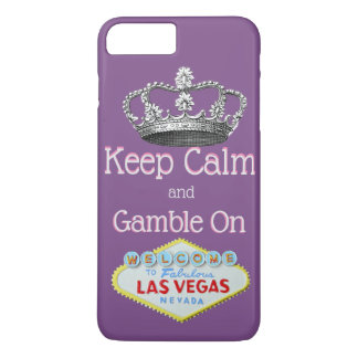 Keep Calm Gamble On Las Vegas iPhone 8 Plus/7 Plus Case