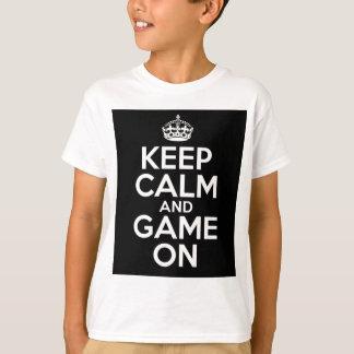 Keep Calm Game On Video Games Geek T-Shirt