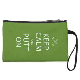 Keep Calm - Golf Gift Wristlet Purses