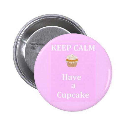 Keep Calm - Have a Cupcake Button