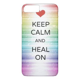 Keep Calm & Heal On iPhone Case