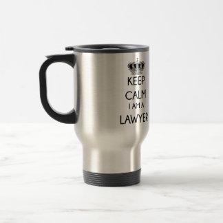 Keep Calm, I am a Lawyer Coffee Mug