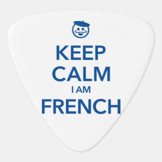 KEEP CALM I AM FRENCH GUITAR PICK
