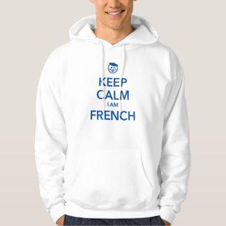 KEEP CALM I AM FRENCH HOODIE