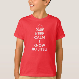 Keep Calm - I know Jiu Jitsu T-Shirt