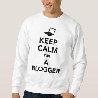 Keep calm I'm a blogger Sweatshirt