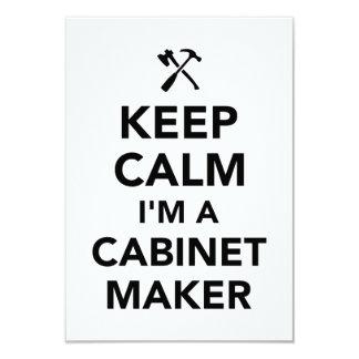 Keep calm I'm a cabinetmaker Card