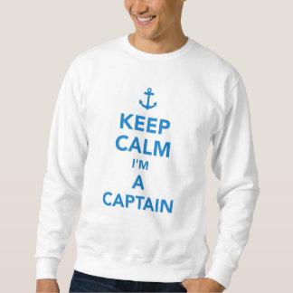 Keep calm I'm a captain Sweatshirt