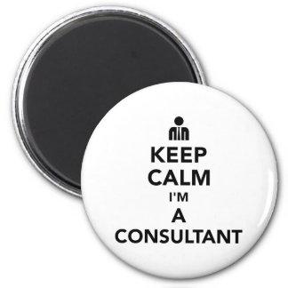 Keep calm I'm a consultant Magnet