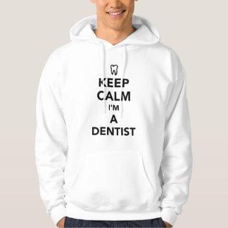 Keep calm I'm a dentist Hoodie