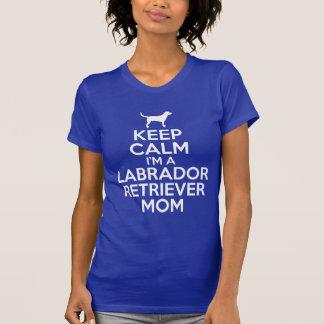 keep calm i m a labrador retriever mom tee shirt