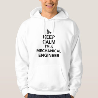 Keep calm I'm a mechanical engineer Hoodie