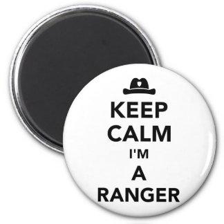 Keep calm I'm a ranger Magnet