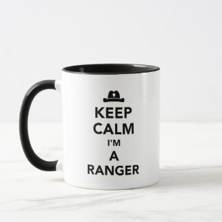 Keep calm I'm a ranger Mug