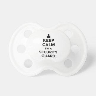 Keep calm I'm a security guard Dummy