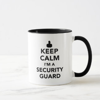 Keep calm I'm a security guard Mug