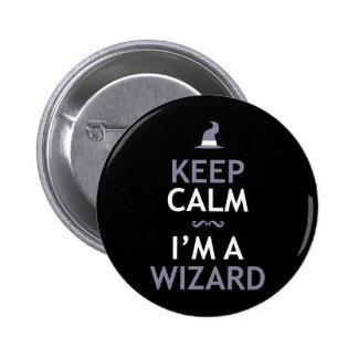 Keep Calm I m A Wizard Pins
