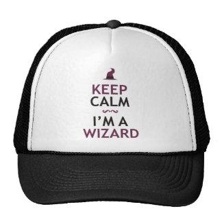Keep Calm I m A Wizard Trucker Hat