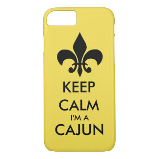 Keep Calm I'm A Cajun Barely There Phone Case